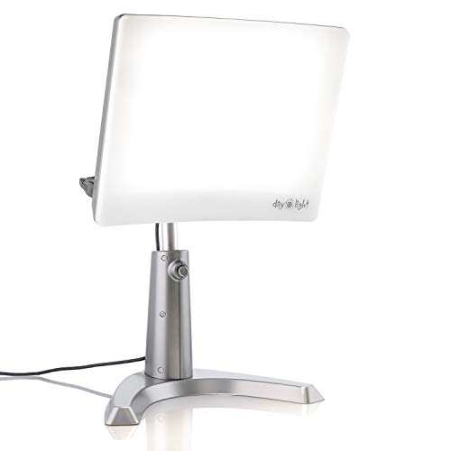 Why Should You Buy Carex Day-Light Classic Plus Bright Light Therapy Lamp - 10,000 LUX  At 12 Inches...