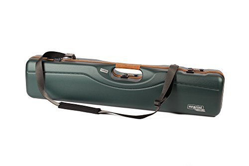 Rifle Deluxe Padded Sling (Negrini Deluxe UPLANDER Breakdown Shotgun Case (OU Shotgun barrels up to 31