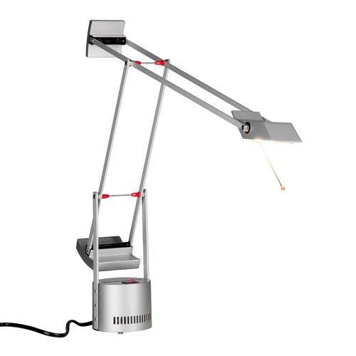 Artemide Tizio Micro Table Lamp Silver Grey Amazon Co Uk Lighting