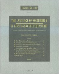 Language of Equilibrium (English and Italian Edition) by Electa