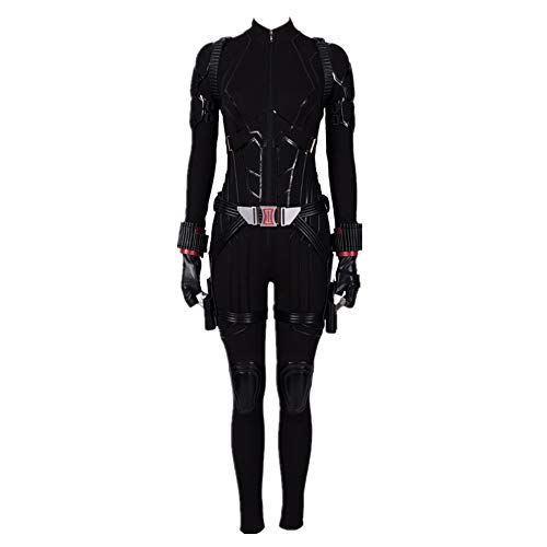 Womens Black Halloween Costume Widow Cosplay Deluxe Full Set Outfits XS