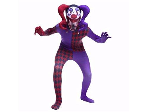 Boys Jester Morph Costumes Halloween M (8-10)