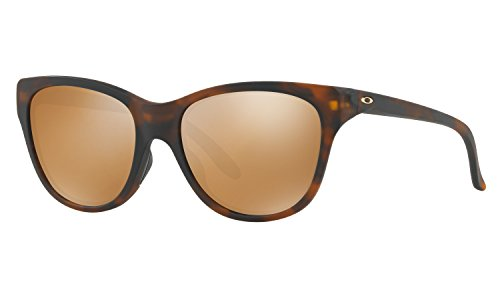 Oakley Women's Hold Out Sunglasses Matte Tortoise with Tungsten Iridium Lens + - Case For Oakley Holbrook