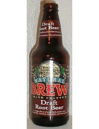 (Natural Brew Soda Root Beer 4pk )