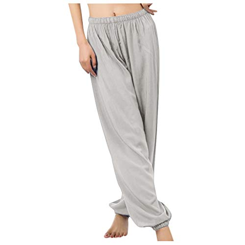 Pantalones Deportivos Mujeres, Casual Harem Pantalones Largos ...