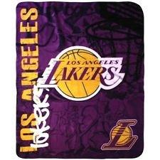 Los Angeles Lakers Fleece Throw Blanket