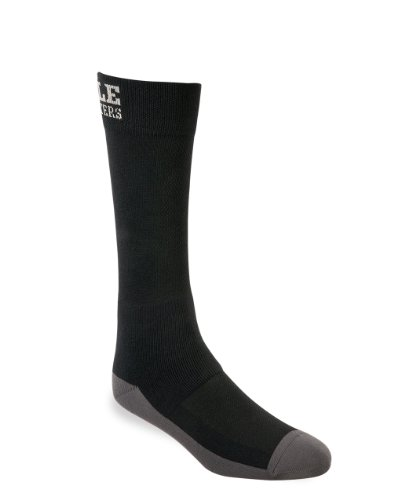 Noble Outfitters XtremeSoft Boot Sock- Crew, Black, Large