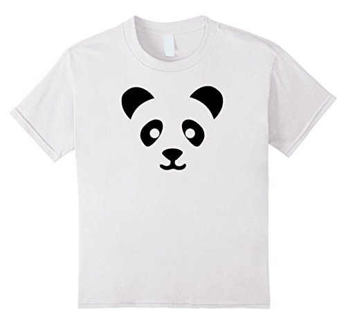 Easy Cute Halloween Costumes For Toddlers (Kids Panda Halloween Costume Shirt Funny Cute Easy for Kids Adult 12 White)