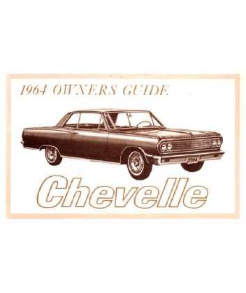 amazon com 1964 chevrolet chevelle owners manual user guide rh amazon com 1964 Chevelle SS 1966 Chevelle