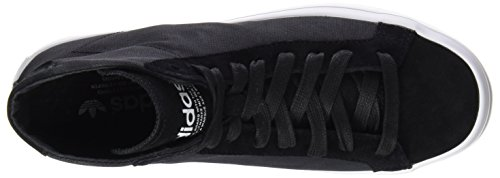 core Black Ftwr Mujer Mid Zapatillas White Adidas Para Courtvantage Negro Core xBRAAn