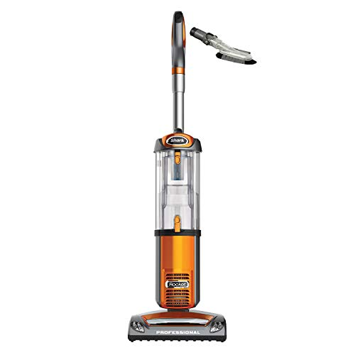 Shark NV484 Rocket Professional Upright Swivel Bagless Vacuum Cleaner with Attachments, Orange (Certified Refurbished)