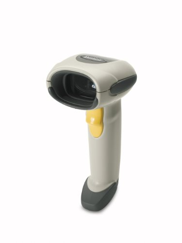 Zebra Technologies LS4208-SR20001ZZR Series LS4208 General Purpose Barcode Scanner, Scanner Only, Multi-Interface, White by Zebra Technologies