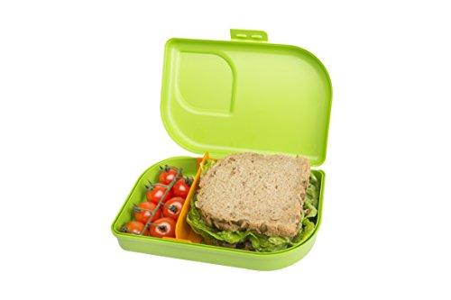 ajaa! Bio NANA BROTBOX lime - Lunch-Box aus nachwachsenden Rohstoffen