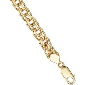 Bracelet en or jaune massif 14 carats Taille 7 pouces Bracelet JewelryWeb