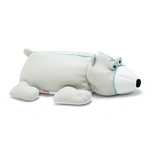 Big Joe, 2020POL, Polar Bear Pool Petz Pool Float, Gray/White (Pool Bear)