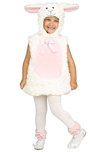 Fun World Little Girl's LRG/Sweet Lamb Tdlr Cstm Childrens Costume, Multi, -