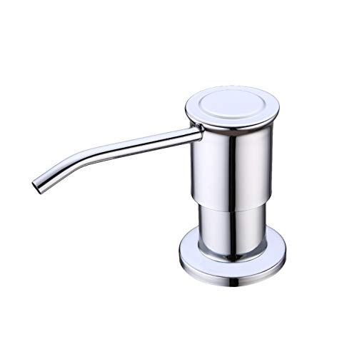 Buy GICASA Commercial Stainless Steel Soap Dispenser (Matte black-52)