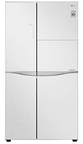 LG 675 L Inverter Wi Fi Frost Free Side by Side Refrigerator  GC C247UGLW, White