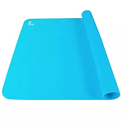 Silicone Extra Large Baking Mat 23.4 By 15.6 Inches Blue