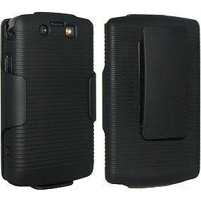 Verizon Original OEM Blackberry Storm 2 II 9550 Combo Shell Holster Hard Case (Case Blackberry Storm)