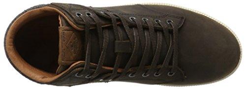 ONeill Herren Raybay LX Leather High-Top Braun (Dark Brown)