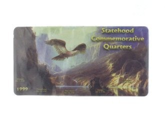 1999 Statehood Commemorative Quarter Holders by Edgar Marcus - Commemorative Statehood Quarters