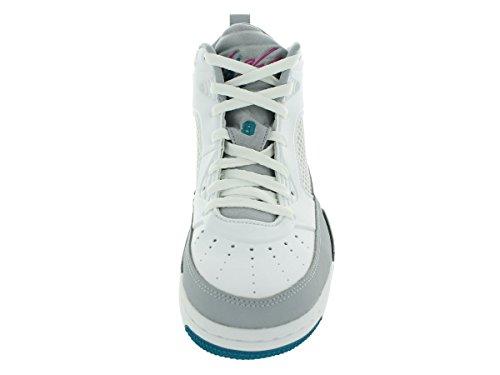Nike Air Jordan Flyvning 9.5 Herre Basketball Sko Hvid / Trpcl Krikand / Wlf Gry / Blk 3nPSO