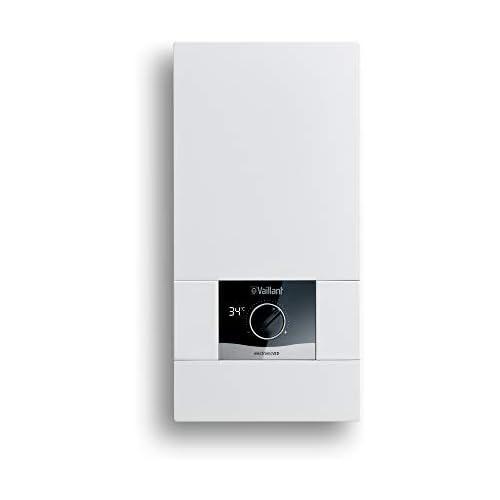 chollos oferta descuentos barato Vaillant electronicVED E 21 8 Calentador de agua electrónico resistente a la presión 21 kW 400 V pantalla digital temperatura de salida precisa regulación continua