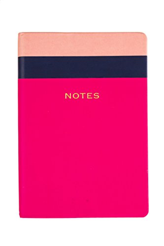Style Journal Pink Colorblock Notes 6x8