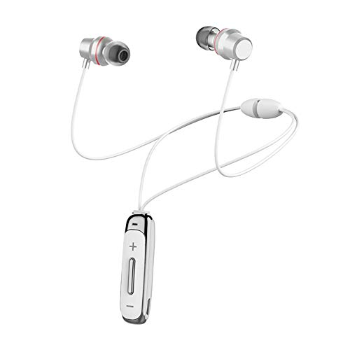 LQHLP Wireless Sports Bluetooth Headset 4.1 Magnetic Neck-Mounted Earbud Stereo Headset