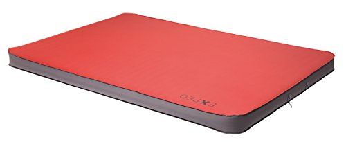Exped MegaMat Duo 10 Self-Inflating Sleeping Pad, Ruby Red, Long/Wide