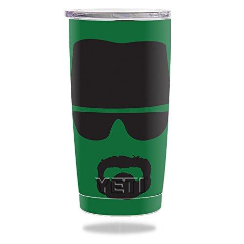 MightySkins Protective Vinyl Skin Decal for YETI 20 oz Rambler Tumbler wrap cover sticker skins Breaking - Sunglasses Yeti