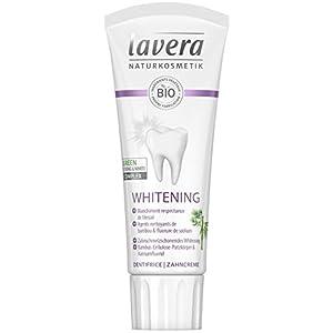 lavera Dentifrice Whitening Agents nettoyants de bambou & fluorure de sodium Vegan Cosmétiques naturels Ingrédients…