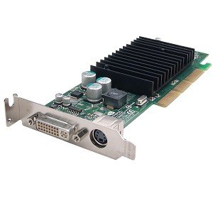 NVIDIA GeForce 4 MX440 64MB DDR AGP Low Profile Video Card w/DVI TV-Out ()