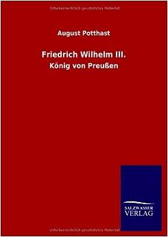 Book Friedrich Wilhelm III.