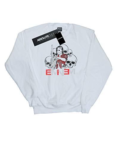 Blanco Chainsaw Eminem De Entrenamiento Camisa Cult Absolute Mujer Skulls USqxaw8nt6