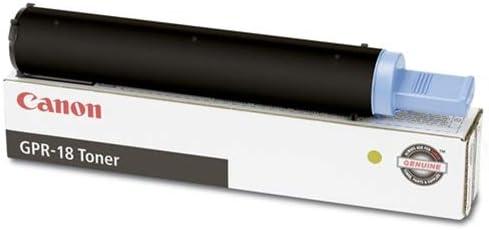Cartridge per Box 8300 Yield Geniune Orginal OEM Toner Canon GPR-18 ImageRunner 2018 Toner 1-460 gm