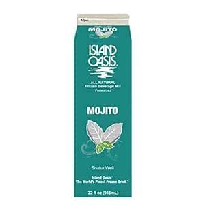 Amazon.com : Island Oasis Mojito Beverage Mix, 32 Fluid ...