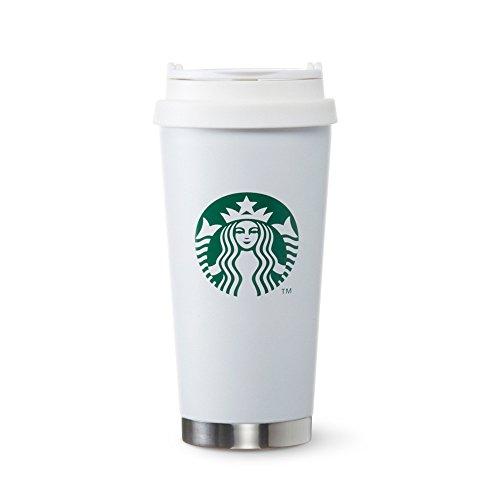 스타벅스 Starbucks coffee 스타벅스 스테인레스 ToGo로고 텀블러 매트 화이트 그란데 470ml
