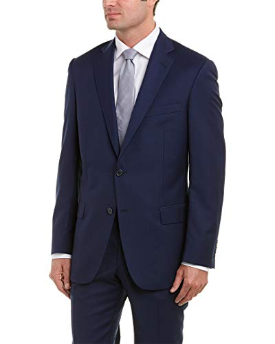 Hart Schaffner Marx Mens New York Fit Wool Suit with for sale  Delivered anywhere in USA