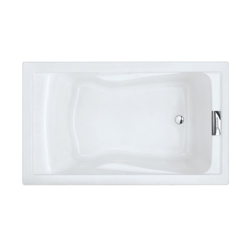 American Standard 2771V002.011 Evolution Deep Soak Bathing Pool, 5 Feet By  36 Inch, Arctic White