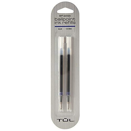 Office Depot Nearby (TUL Ballpoint Pen Refills, Medium Point, 1.0 mm, Blue Ink, Pack of 2)
