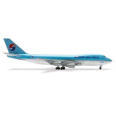 1/500 B747-400F 大韓航空カーゴ オープン ノーズ ダイキャスト/プラスチック製 506946