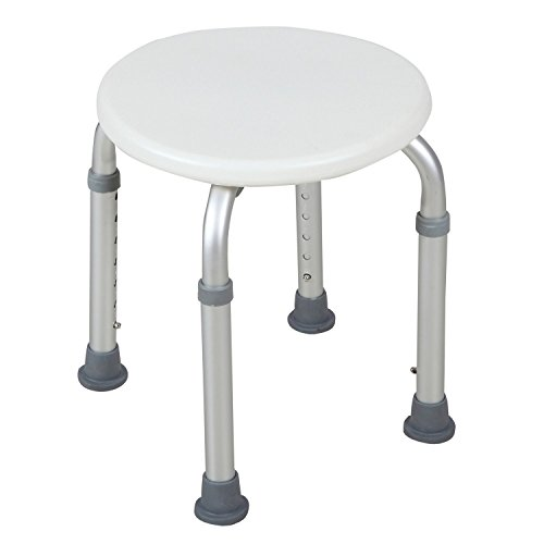 totoshop 7 Height Chair Bath Adjustable Medical Bath Shower Stool Tub Seat in White New by totoshop
