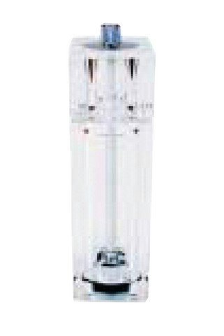 Winco WPMP-6 Pepper Mill/Salt Shaker, 6-Inch, Clear Acrylic