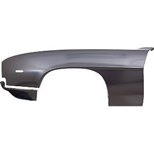 1969 Camaro Fenders (Auto Metal Direct 200-3569-LS Front Steel Fender 1969 Camaro RS With Extension)
