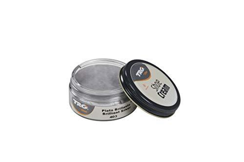 TRG The One Metallic Shoe Cream 50ml #403 Brilliant Silver