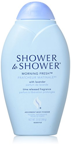 (Shower to Shower Absorbent Body Powder, Morning Fresh with Lavender, 13 Oz (Pack of 3))