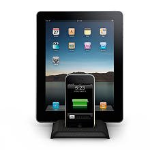 Imation Nano (XtremeMac InCharge Duo - Digital player / phone charging / handheld charging stand - for Apple iPad 1; iPhone 3G, 3GS, 4; iPod (3G, 4G, 5G); iPod classic; iPod nano; iPod touch)