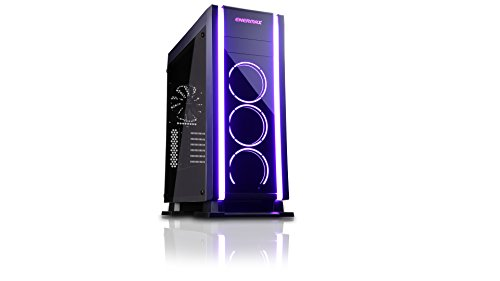 Enermax Black Atx Computer Case - ENERMAX ECA3500BA-RGB LED Middle Tower PC Case Saberay